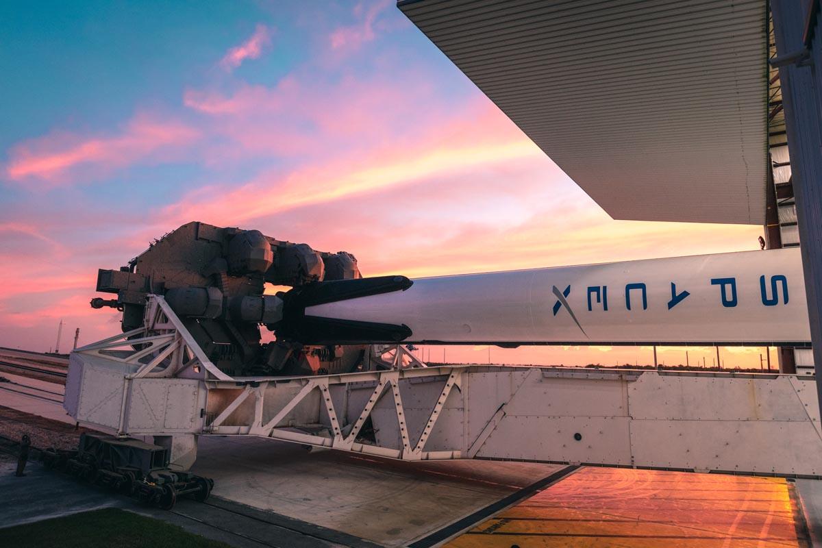 Elon Musk SpaceX Falcon 9 Rakete