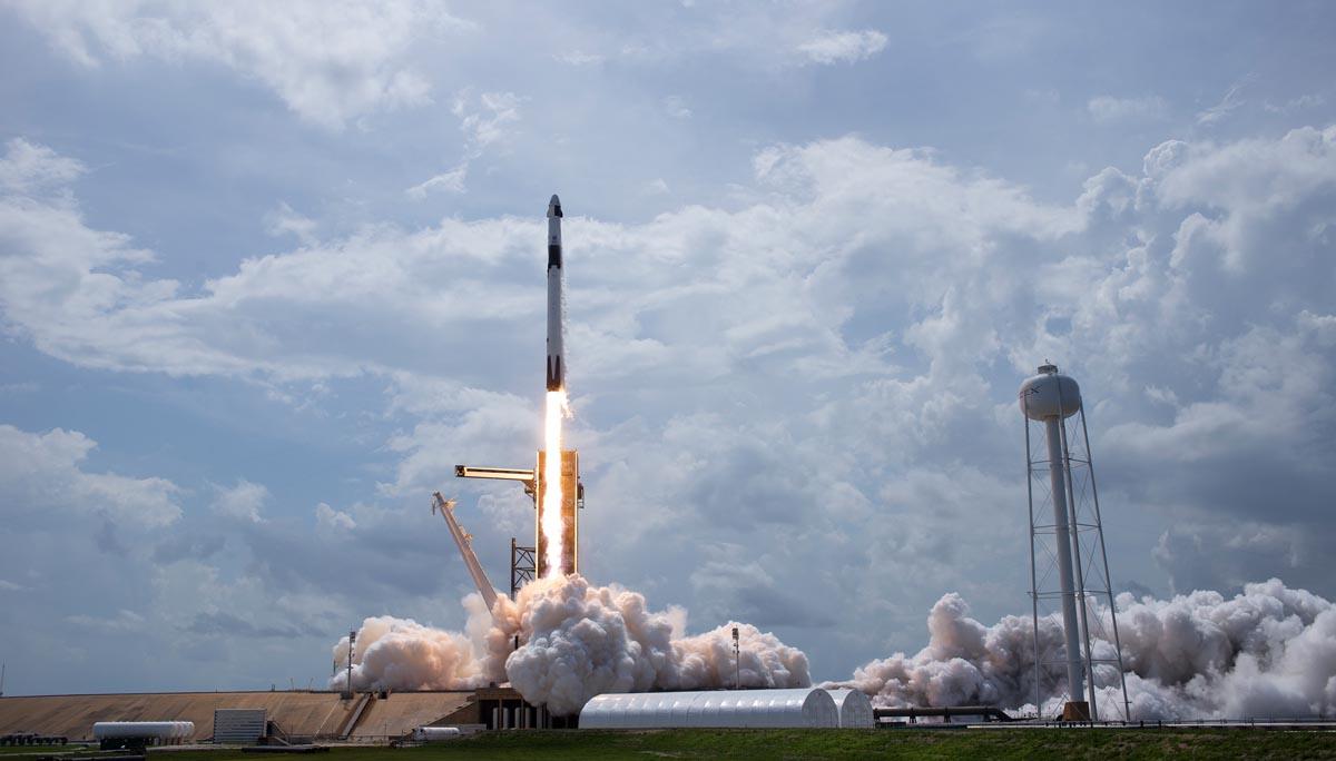 Elon Musk Starlink Satelliten Rakete