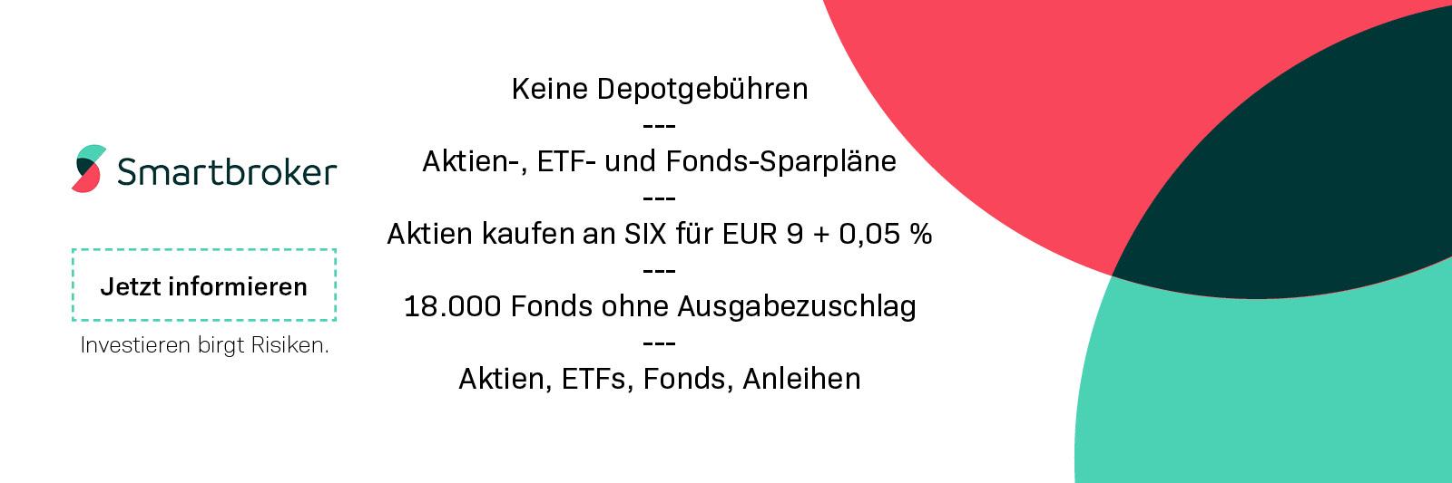 Smartbroker Schweiz Online Trader