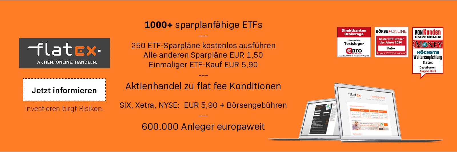 flatex Schweiz Online Broker